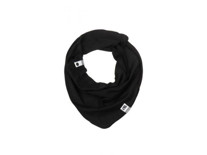 Bavlněný šátek - černý
