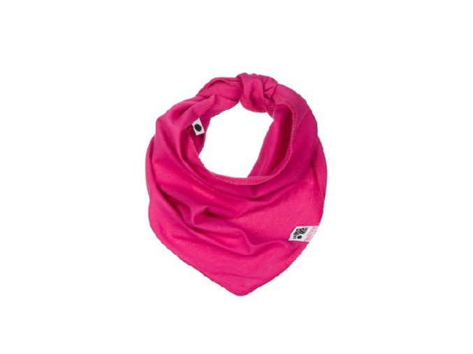 Bavlněný šátek - fuchsiový
