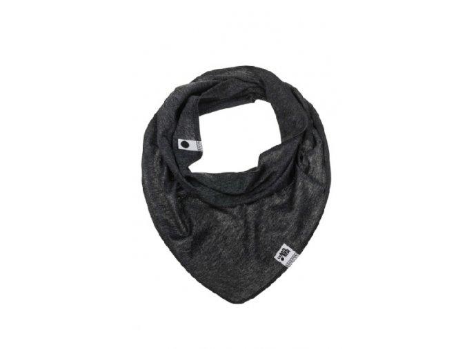 Bavlněný šátek - grafitový