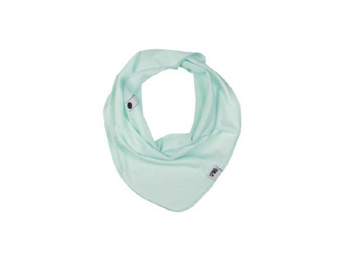 Bavlněný šátek - mátový