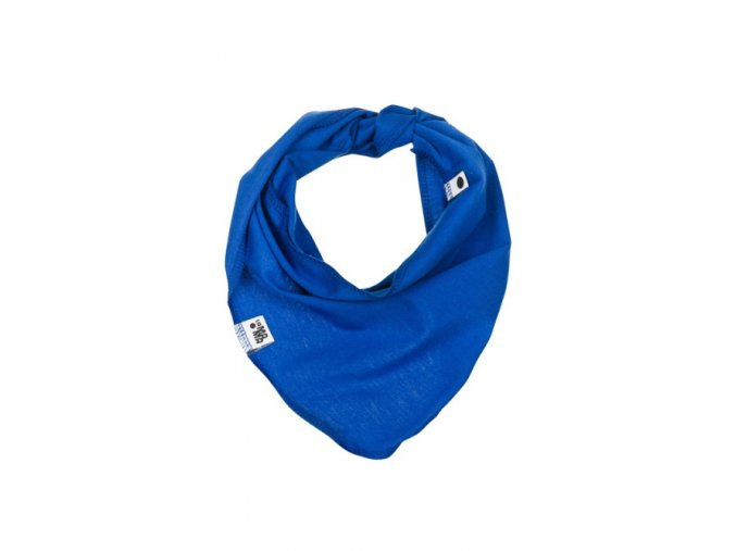 Bavlněný šátek - modrý