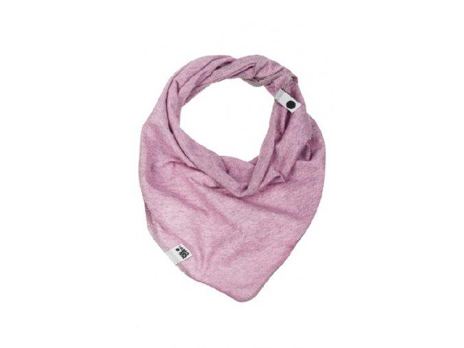 Bavlněný šátek - pastelový melírovaný