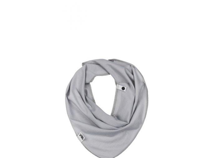 Bavlněný šátek - popelavý