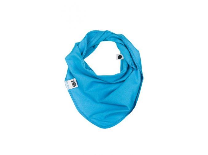 Bavlněný šátek - tyrkysový
