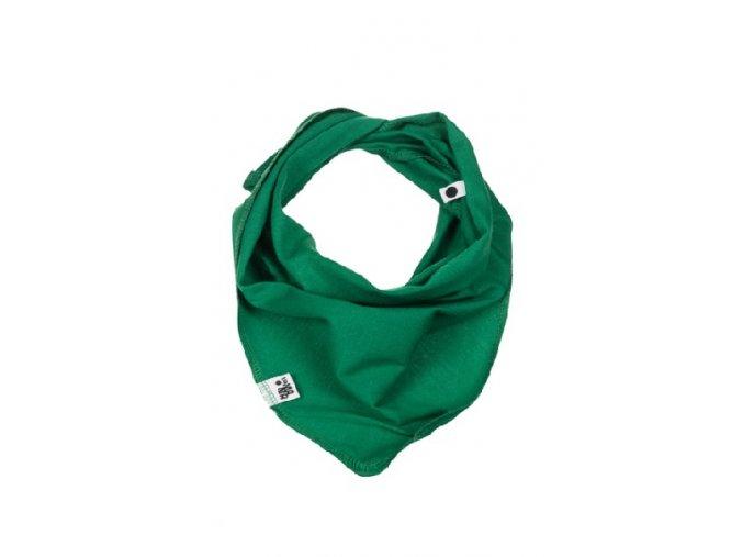 Bavlněný šátek - zelený