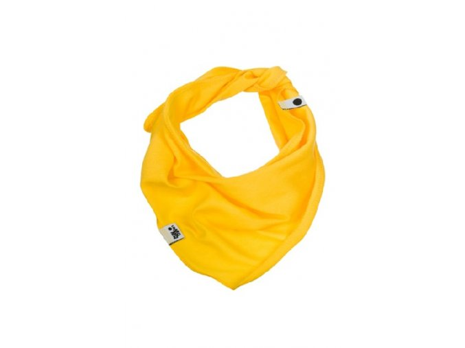 Bavlněný šátek - žlutý