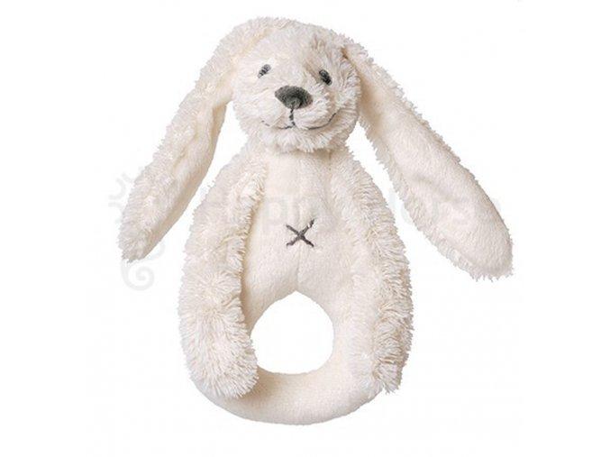 Smetanový králíček Richie - chrastítko