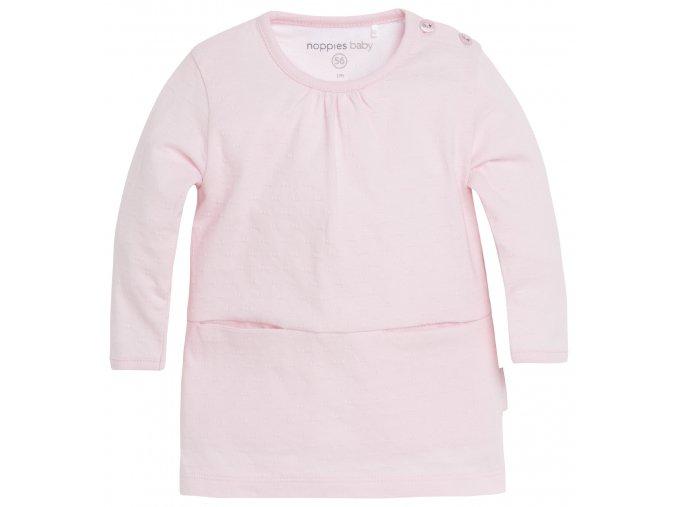 Šaty Is Evy - světle růžové