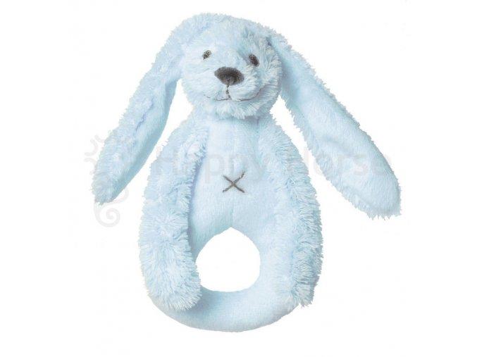 Modrý králíček Richie - chrastítko