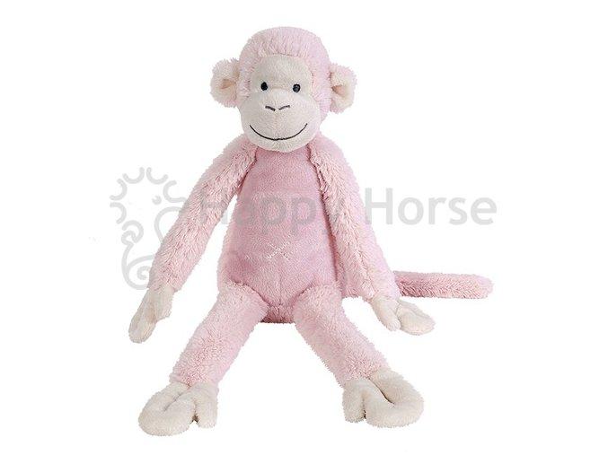 Růžová opička Mickey 43cm