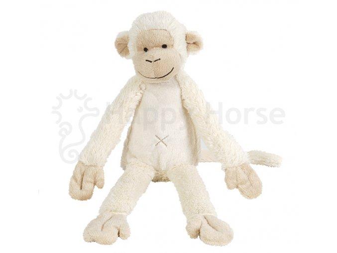 Krémová opička Mickey 43cm
