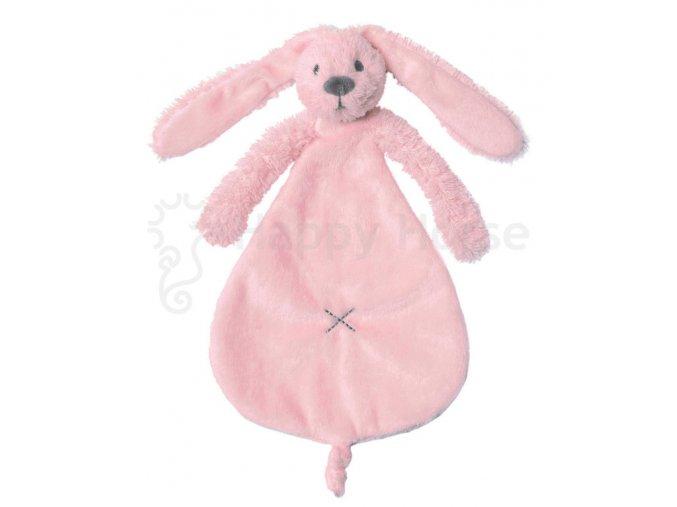 Růžový králíček Richie - přítulka