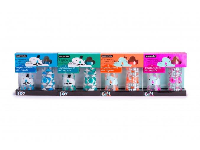 Clouds Collection Dárkový set kojeneckých láhví - LIMITOVANÁ ŘADA