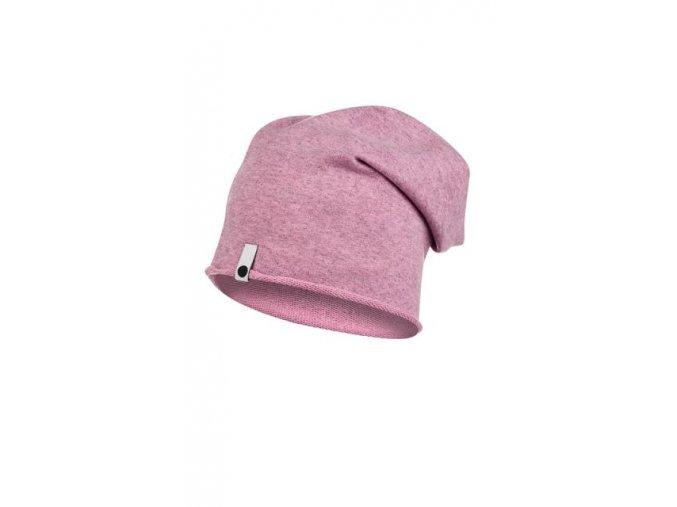Bavlněná čepice - pastelová melírovaná - limitovaná