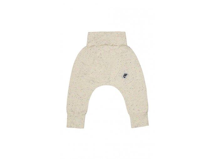Kalhoty bavlněné (podzim/zima) - ecru neon