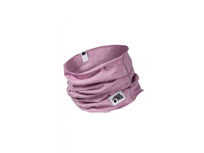 Komínkový šál - pastelový melírovaný