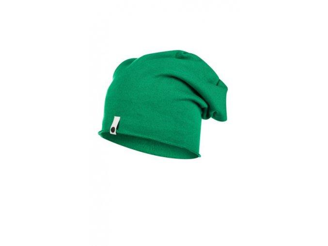 Bavlněná čepice - zelená 2