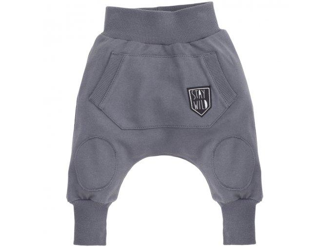 Kalhoty Wild Boy - šedé