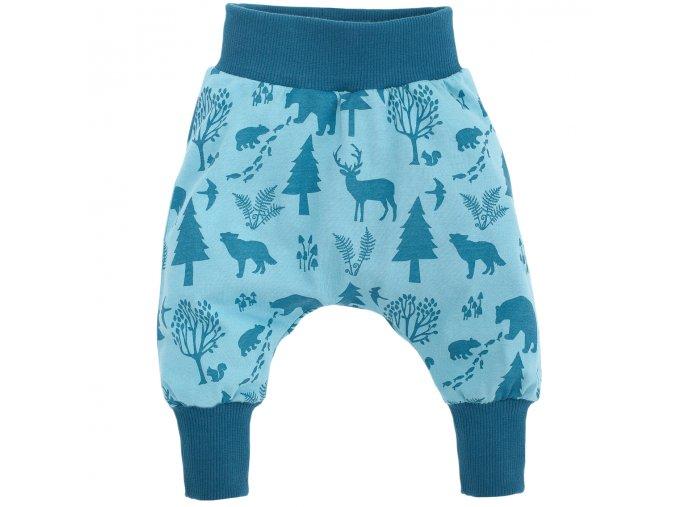 Kalhoty Wild Boy - tyrkysové