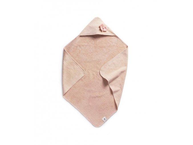 Osuška s kapucí Elodie Details - Powder Pink