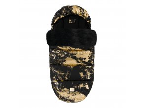 Footmuff Black Golden