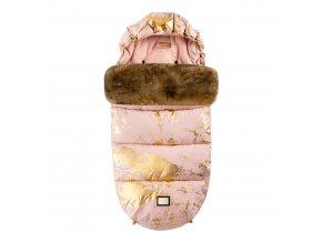 Footmuff pink golden collection Aw19