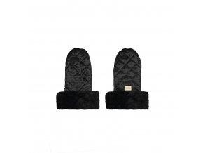 handmuff black velvet