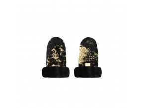 Handmuff Black golden