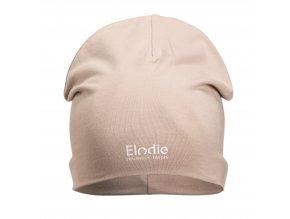 logo beanie powder pink elodie details