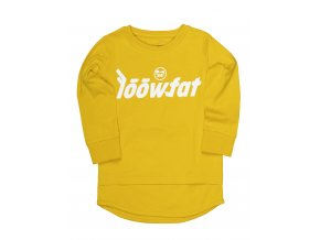 KIDS Si bling Mood T shirt YLW 01