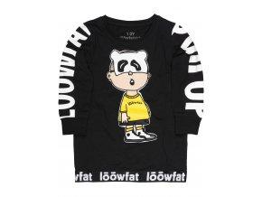 KIDS PullUP T shirt BLK 01