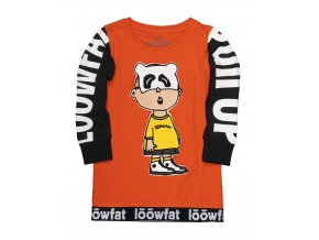 KIDS PullUP T shirt RED 01