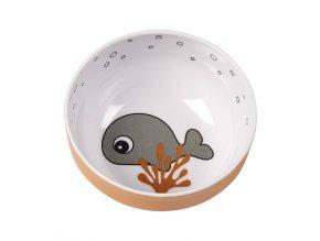 Yummy mini mistička Sea Friends - šedá/hořčicová