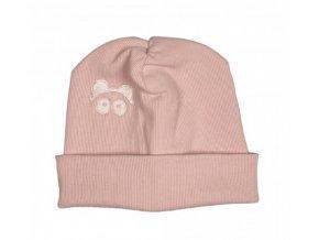 Úpletová čepice Loowfat - růžová