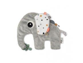 2840 1 pritulka slonik elphee sedy new