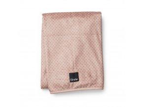 Sametová deka Elodie Details - Pink Nouveau