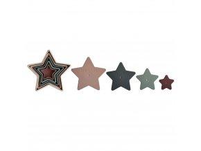 Mushie skládací hvězdy - original