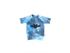 Bavlněná mikina - batman černý LIMITOVANÁ KOLEKCE
