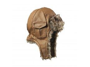 Čepice ušanka Elodie Details - Chestnut Leather