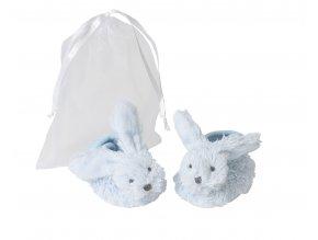 Modrý králíček Richie - papučky