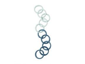 Hrací kroužky/spona, modré mix