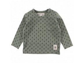 Bavlněné triko Fly Small rags - vojenské zelené