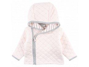 Bavlněný kabátek Future - světle růžový