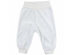 Bavlněné kalhoty Future - světle modré