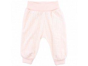 Bavlněné kalhoty Future - světle růžové