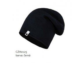 Bavlněná čepice - černá