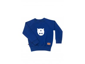 blue bear white