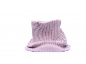 Zimní pletený šál Granha - lila