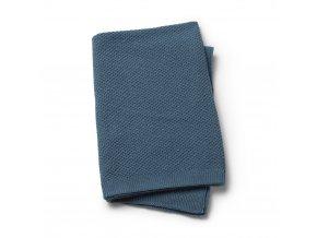 Vlněná deka - Moss - Tender Blue