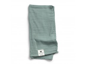 103212 Bamboo Muslin Blanket Mineral Green 1000px